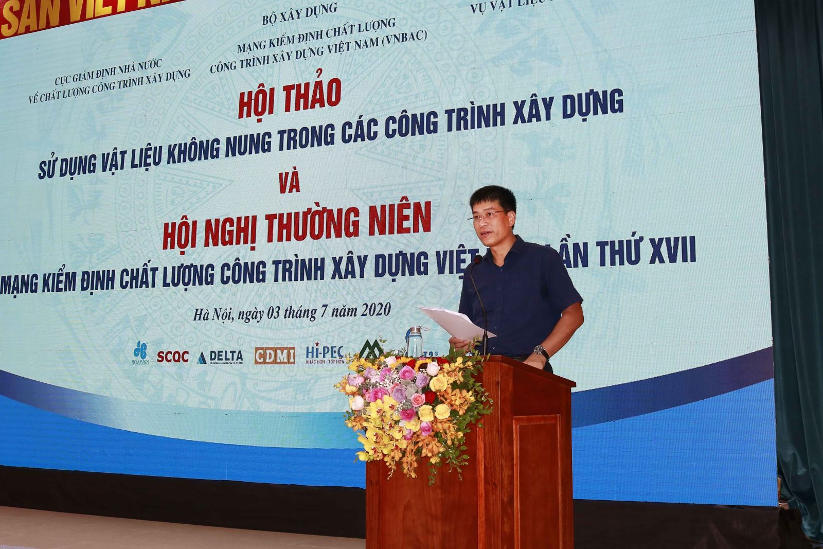 Cục trưởng Phạm Minh Hà phát biểu tại hội thảo